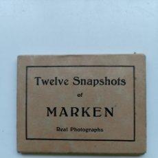 Postales: ÁLBUM FOTOGRÁFICO DE 12 MINI FOTOS DE MARKEN, PAÍSES BAJOS. HOLANDA HOLLAND.. Lote 211488922