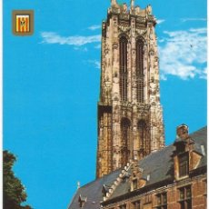 Postales: [POSTAL] TORRE DE SAN ROMUALDO. MECHELEN / MALINAS (BÉLGICA) (SIN CIRCULAR). Lote 211557397