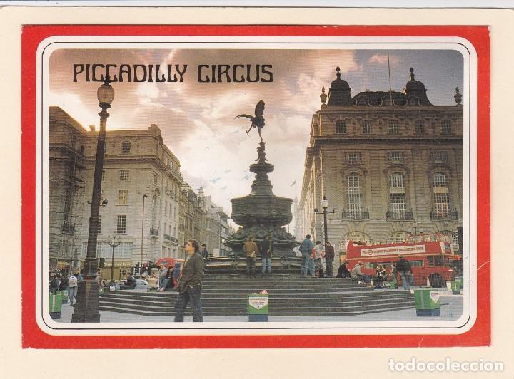 POSTAL PICCADILLY CIRCUS. LONDRES (INGLATERRA. REINO UNIDO) (Postales - Postales Extranjero - Europa)