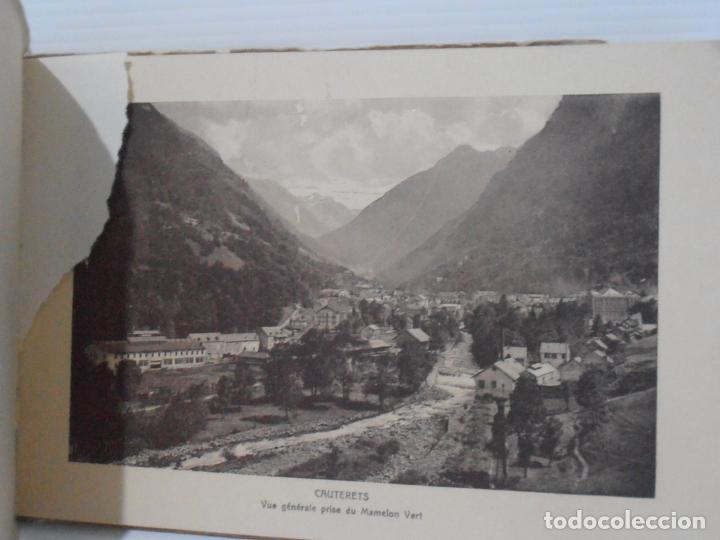 Postales: BLOC DE VISTAS, 16 POSTALES TURISTICAS, CAUTERETS, COMPAGNIE ALSACIENNE - Foto 2 - 212723813