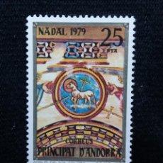 Postales: ANDORRA, 25 PTAS, NADAL,1979, SIN USAR.. Lote 213009797