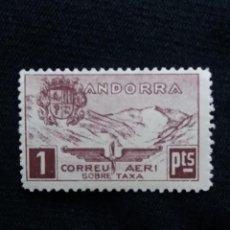 Postales: ANDORRA ESPAÑA, 1 PTA, CORREO AEREO, AÑO,1932. NUEVO.. Lote 213105515