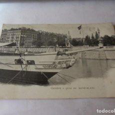 Postales: MAGNIFICAS 19 POSTALES ANTIGUAS DE GENEVE.SUIZA. Lote 213258907