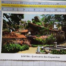Cartes Postales: POSTAL DE PORTUGAL. SINTRA CONVENTO DOS CAPUCHOS. 1343. Lote 213383967