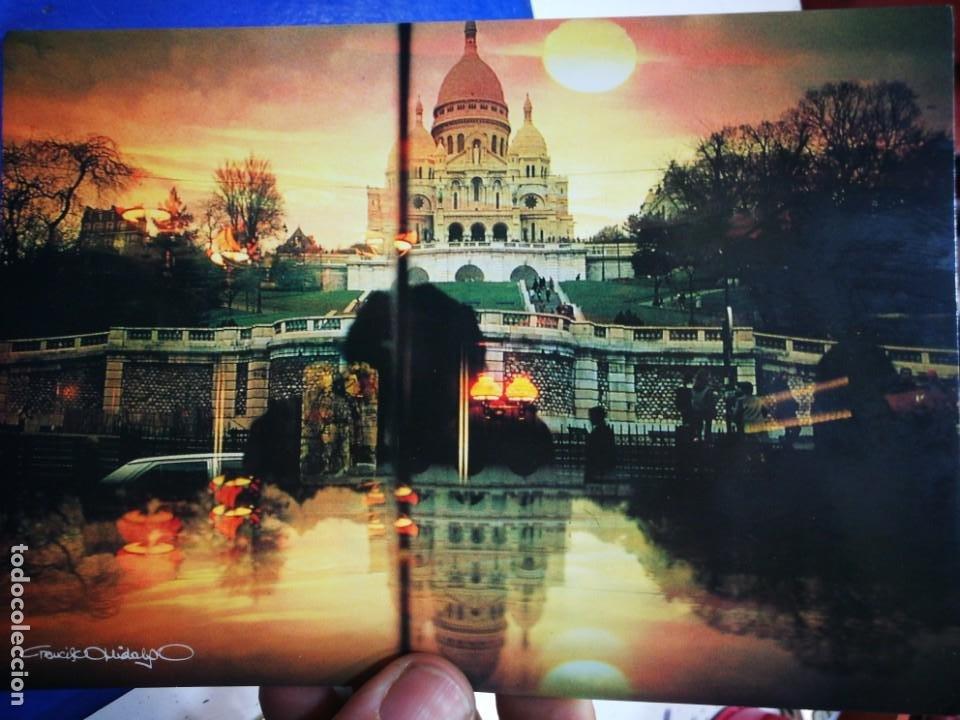 POSTAL PARÍS LE SACRE COEUR PHOTOGRAPHIE FRANCISCO HIDALGO S/C (Postales - Postales Extranjero - Europa)