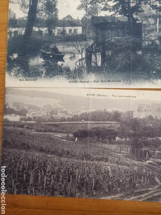 Postales: 3 Postales Francesas de Avize de 1918, France Francia. - Foto 3 - 213445516