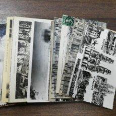 Postales: LOTE DE 50 POSTALES DE FRANCIA. ORLEANS. ROCAMADOUR. PUISEAUX. VER FOTOS.. Lote 213538126