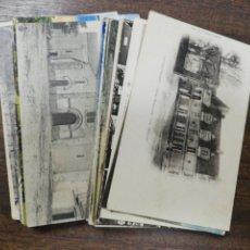 Postales: LOTE DE 50 POSTALES DE FRANCIA. LA BAULE. CHATEAUBRIANT. NANTES. VER FOTOS.. Lote 213598000