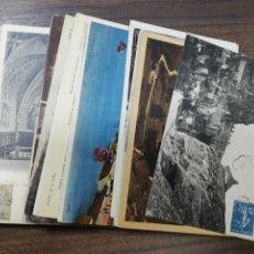 Postales: LOTE DE 50 POSTALES DE FRANCIA. ROCAMADOUR. LE POULIGUEN. LE BERNERIE. VER FOTOS.. Lote 213600482