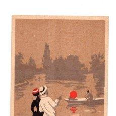 Postales: TARJETA POSTAL BOIS DE BOULOGNE, LE LAC. FRANCIA. C. 1910. Lote 214260868
