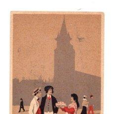 Postales: TARJETA POSTAL ST. GERMAIN-DES-PRÉS. FRANCIA. C. 1910. Lote 214261092
