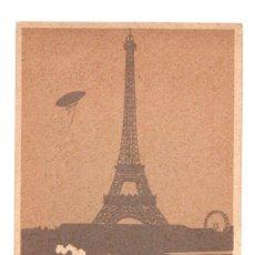 Postales: TARJETA POSTAL TOUR EIFFEL. PARIS. FRANCIA. C. 1910. Lote 214261237