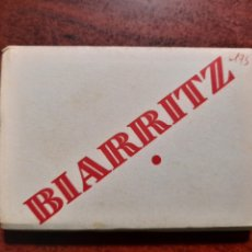 Postales: BIARRITZ .- 14 MINI POSTALES FOTOTGRAFICAS 9X7 .- EDITION CARTES POSTALES CAP. Lote 214276917