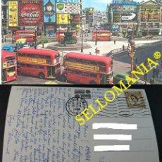 Postais: POSTCARD LONDON PICCADILLY CIRCUS LONDRES 1968 ENGLAND INGLATERRA POSTAL CC04388 UK. Lote 215172423