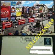 Postais: POSTCARD LONDON PICCADILLY CIRCUS 1970 COCA - COLA ENGLAND LONDRES INGLATERRA POSTAL CC04883 UK. Lote 215173767