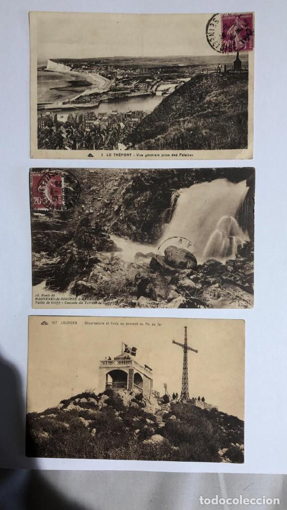 LOTE 3 POSTALES ANTIGUAS, PRINCIPIOS SIGLO XX FECHADAS ENTRE 1924-1925 (Postales - Postales Extranjero - Europa)