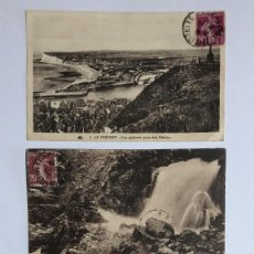 Postales: LOTE 3 POSTALES ANTIGUAS, PRINCIPIOS SIGLO XX FECHADAS ENTRE 1924-1925. Lote 217054430