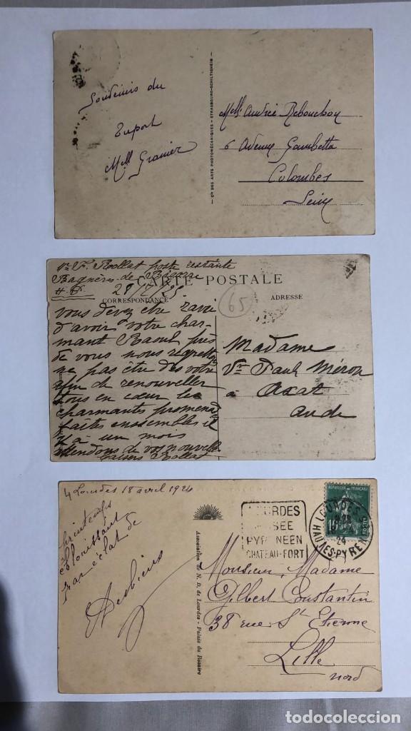 Postales: LOTE 3 POSTALES ANTIGUAS, PRINCIPIOS SIGLO XX FECHADAS ENTRE 1924-1925 - Foto 2 - 217054430