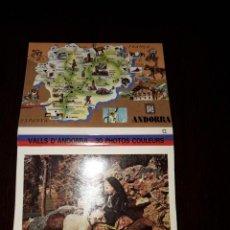 Postales: ANDORRA-POSTALES FOTOGRAFICAS DE 12 X 9 CM DOBLE CARA. Lote 217417981