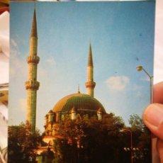 Postales: POSTAL TURKIA ESTAMBUL THE MOSQUE OF EYUP 1800 AÑO 1969 ESCRITA Y BELLAMENTE SELLADA. Lote 217608583