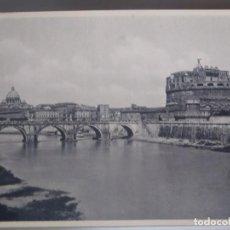 Postales: ROMA - PONTE E CASTEL S.ANGELO. Lote 217757686