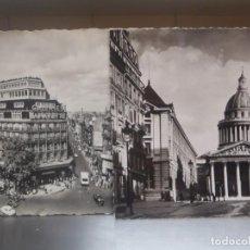 Postales: PARIS - LOTE DE DOS POSTALES - LE PANTHEON,GALERIAS LAFAYETTE. Lote 217757770