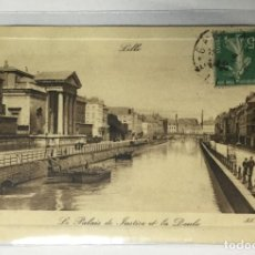 Postales: CPA , FRANCE , FRANCIA , LILLE PALAIS DE JUSTICE. Lote 217928278