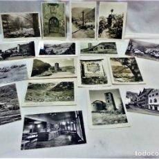 Postales: LOTE DE 17 POSTALES VALLS D´ANDORRA.EDICIONS VALENTÍ CLAVEROL,PONTEBRE Y OTROS.. Lote 218031542