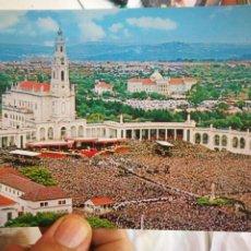 Postales: POSTAL FÁTIMA PORTUGAL DÍA DE PEREGRINACIÓN N 195 ARTE E TURISMO S/C. Lote 218238232
