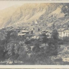 Postales: POSTAL DE ANDORRA LA VELLA .. Lote 218499477