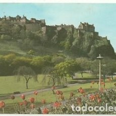 Postais: POSTAL A COLOR EDINBURGH CASTLE FROM PRINCES STREET GARDENS. Lote 218777447