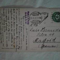 Postales: POSTAL1861 HANS LUCKOW-HALLE DEUTSCHLAND-BURG GIEBICHENSTEIN - FILATELIA ESPERANTO 1913 -PUENTE. Lote 219645101