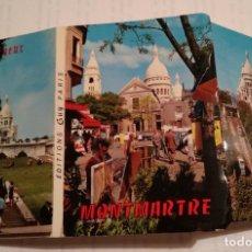 Postales: MONTMARTRE - 12 POSTALES FORMATO ACORDEON. Lote 219981383