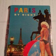 Postales: PARIS BY NIGHT - PIGALLE - FORMATO ACORDEON. Lote 219987008