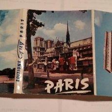 Postales: PARIS - 18 POSTALES - FORMATO ACORDEON. Lote 219989820