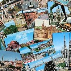 Postales: LOTE DE 50 POSTALES - EXTRANJERAS - ROMA - PORTUGAL - VENECIA - LONDRES - MILAN - WASHINGTON. Lote 220089830