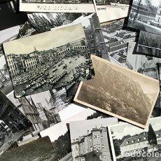 Postales: LOTE DE POSTALES Y FOTOS EN BLANCO & NEGRO - EXTRANJERAS - COLECCIONISTAS. Lote 220092495