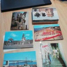 Postales: POSTALES DE PORTUGAL (60 UDS) 38 EN CARPETAS Y 22 SUELTAS AÑOS 70. Lote 220186450
