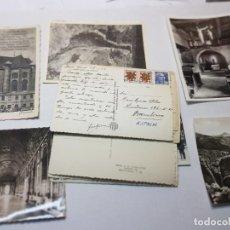 Postales: POSTALES BLANCO Y NEGRO AÑOS 20-60 ALGUNAS RARAS. Lote 220712191