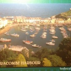 Postales: POSTAL - ILFRACOMBE HARBOUR - DEVON UK - SALMON CAMERA COLOUR POST CARD. Lote 220734307