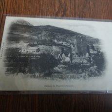 Postales: C161. TARJETA POSTAL. CHATEAU DE THORENT A SAHORRE. 1898 1902. Lote 221076061