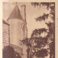 Postales: FRANCIA LOCHES EL CASTILLO REAL 1926 POSTAL CIRCULADA. Lote 221693280
