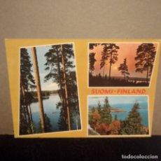 Postales: FINLANDIA: SUOMI.CIRCULADA.. Lote 221695503