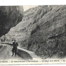 Postales: DAUPHINE- FRANCIA- LAS GARGANTAS DE LA BOURNE - NUEVA. Lote 221710495