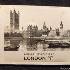 Postales: MINI ELBUN DE FOTOGRAFÍAS DE LONDRES 7 DE LARGO 9 DE ANCHO LEER DESCRIPCION. Lote 221714165