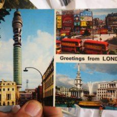 Postales: POSTAL LONDRES LONDON GREETINGS FROM S/C. Lote 221805076