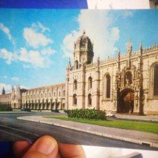 Postales: POSTAL LISBOA PORTUGAL MONASTERIO DOS JERÓNIMOS N 9 NUESTRA SEÑORA DEL PERPETUO SOCORRO S/C. Lote 221930167