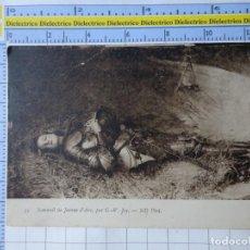 Postales: POSTAL DE FRANCIA. JUANA DE ARCO DURMIENDO. 1742. Lote 221967716