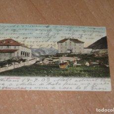 Postales: POSTAL DE GOTTHARDHOSPIZ. Lote 222065950