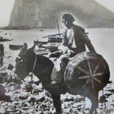 Postales: GIBRALTAR-COUNTRY TYPE ON BEACH NEAR GIBRALTAR-ROISIN FOTOGRAFICA-POSTAL ANTIGUA-(75.045). Lote 222066388